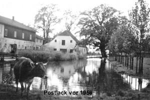 Ehemalige Postlack; zugeschüttet für die Wolfratshausener Straße