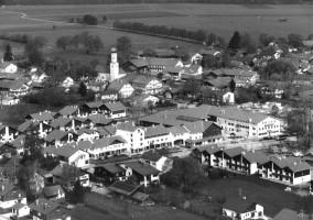 Luftbild vom Zentrum II, 1982