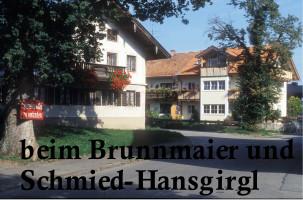 Beim Brunnmaier und Schmied-Hansgirgl, Kirchstraße