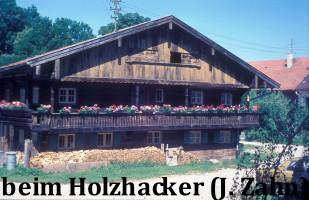 Beim Holzhacker, Dischingerweg