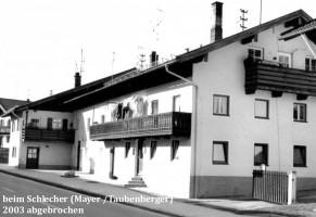 Beim Schlecher, Wolfratshausener Straße, abgebrochen 2003