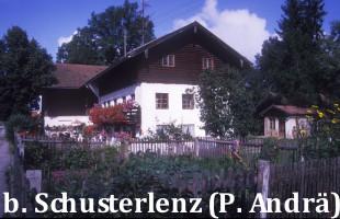Beim Schusterlenz, Wolfratshausener Straße, abgerissen Ende der 90er Jahre
