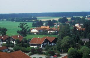 Blick vom Zentrum II über Andreasstraße und Hoanzweg zum Pechlerweg