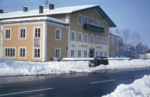 Ehemaliger Gasthof zur Post, Tegernseer Landstraße, vor dem Umbau 1982