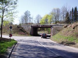 Alte Bahnunterführung Münchener Straße, April 2007