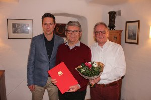 Ehrung Gerald Bretfeld für 50-Jahre SPD-Mitgliedschaft