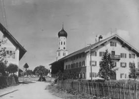Lindmaierhof, erbaut 1925, Wolfratshauser Straße, Anfang der 50er Jahre