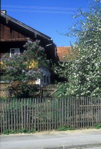 Beim Schlechhueber, Bauerngarten, Kirchstraße, 1997