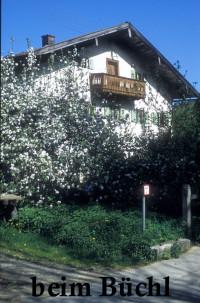 Beim Büchl, Kirchstraße, abgerissen Ende der 90er Jahre