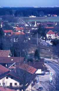 Blick nach Norden, Münchener Straße