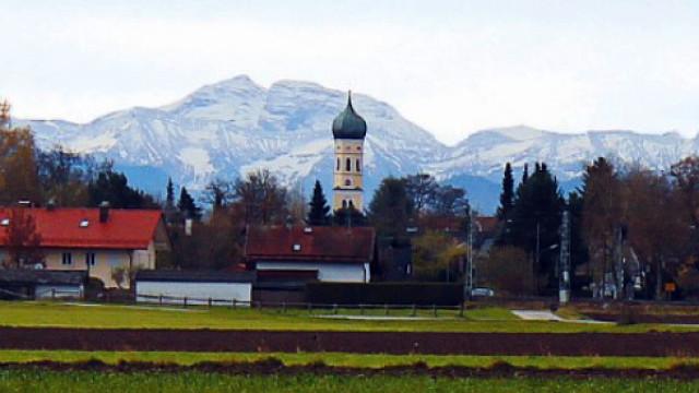 Blick auf Sauerlach